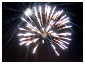 a firework