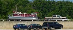 a big truck in a big boat - Copy